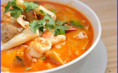 Comienza el frío…te proponemos una buena sopa de pescado.